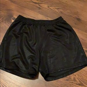 BLACK ATHLETIC SHORTS!!